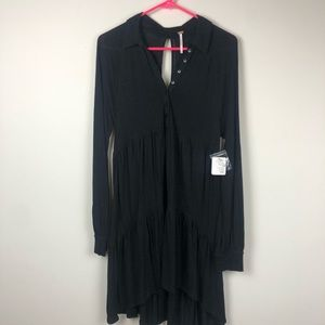 NWT Free People tiered cotton dress